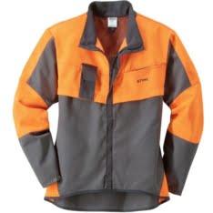 Economy plus jakna tamno siva/narandžasta