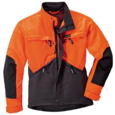 DYNAMIC jakna sivo/narandžasta, XL