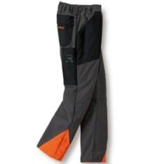ECONOMY PLUS pantalone tamno sive/narandžaste