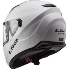 Kaciga LS2 Full Face FF320 STREAM EVO sjajno bela XL