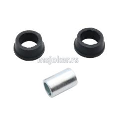 Čaura amortizera silen blok sa gumom E90  L 21 mm Tomos