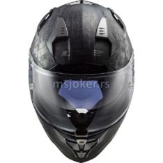 Kaciga LS2 Full Face FF327 CHALLENGER FLEX mat crna XL