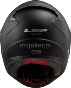 Kaciga LS2 Full Face FF353 RAPID mat crna L