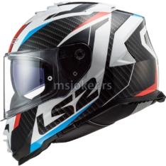 Kaciga LS2 Full Face FF800 STORM RACER crveno plava L