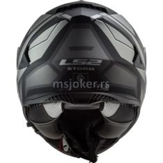 Kaciga LS2 Full Face FF800 STORM FASTER mat titanium XL