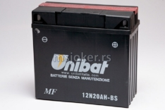 Akumulator UNIBAT 12V 20Ah gel 12N20AH-BS desni plus (181x76x167) 275A