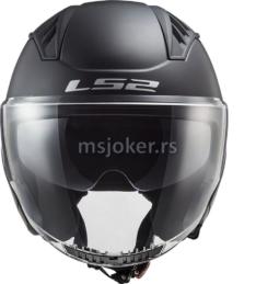 Kaciga LS2 Jet OF600 COPTER  mat crna sa naočarima XXL