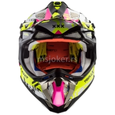 Kaciga LS2 Cross MX470 SUBVERTER TRIPLEX crno roza XXL