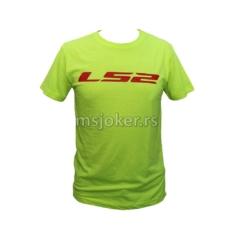 Majica LS2 neon žuta 3XL