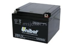 Akumulator UNIBAT 12V 25Ah SLA ( 166x175x125 )