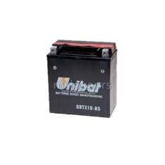 Akumulator UNIBAT 12V 14Ah gel CBTX16-BS levi plus (150x87x161) 230A