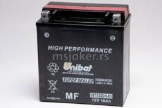 Akumulator UNIBAT 12V 18Ah gel CBTX20CH-BS levi plus (150x87x161) 270A