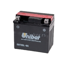 Akumulator UNIBAT 12V 4Ah gel CBTX5L-BS desni (114x71x106)-4