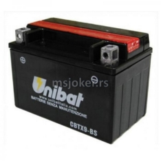 Akumulator UNIBAT 12V 8Ah gel CBTX9-BS levi (150x87x105)-4