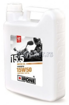 IPONE polusintetičko ulje za 4T motore 15.5 15W50 4L