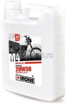 IPONE mineralno ulje za 4T motore M4 20W50 4L