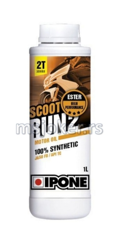 IPONE sintetičko ulje za skutere 2T Scoot Run 2 1L