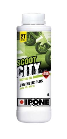 IPONE polusintetičko ulje za skutere 2T sa mirisom JAGODE 2T Scoot City 1L