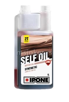 IPONE polusintetičko ulje za dvotaktne motore Self Oil 1L dozer sa mirisom JAGODE