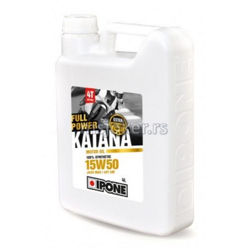 IPONE sintetičko ulje za 4T motore Full power katana 15W50 4L