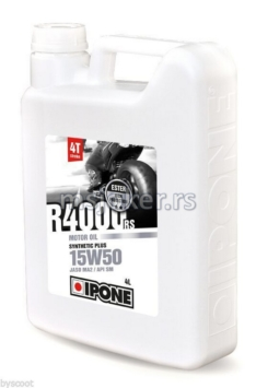 IPONE polusintetičko ulje za 4T motore R4000 RS 15W50 4L