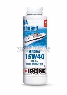 IPONE mineralno ulje za brodske motore 4T Marine M4 Inboard 15W40 1L