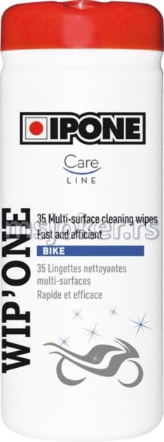 IPONE maramice za čišćenje motocikla WIP ONE 35 komada