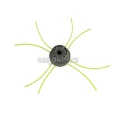 Glava trimera univerzalna aluminijumska fi 16 mm PAUK glava