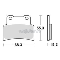 Disk pločice TRW MCB847SRM ( MAXI – SCOOTER SINTER )