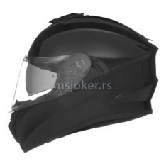 Kaciga NOX Full Face sa naočarima N918 sjajno crna L