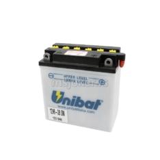 Akumulator UNIBAT 12V 9Ah sa kiselinom 12N9-3B=A desni plus (135x75x139) 85A