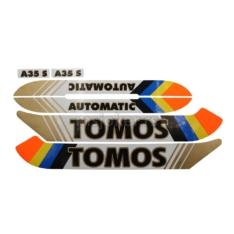 Nalepnice Tomos A35 novi tip kvalitet