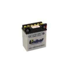 Akumulator UNIBAT 12V 3Ah sa kiselinom CB3L-BSM desni plus (98x56x110) 32A
