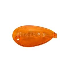 Staklo žmigavca Piaggio Liberty zadnje-desno narandžasto