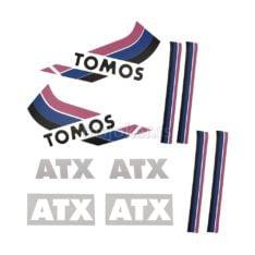 Nalepnice Tomos ATX50 veliki set