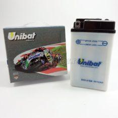 Akumulator UNIBAT 6V 10Ah sa kiselinom B49-6/SM levi plus (91x83x161)