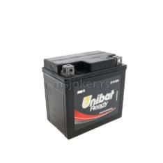 Akumulator UNIBAT 12V 4Ah gel CBTX5L-FA desni (114x71x106)