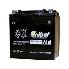 Akumulator UNIBAT 12V 30Ah gel  CIX30L-BS desni plus (166x126x175) 385A
