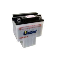 Akumulator UNIBAT 12V 16Ah sa kiselinom HCB16A-A levi plus (151x91x180) 150A